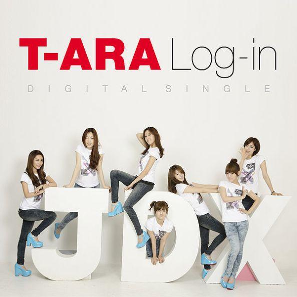 T-ARA - Log-in (Digital single)