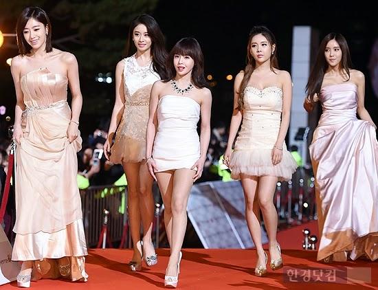 T-ARA 2014 APAN STAR AWARDS (2)