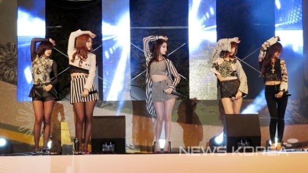t-ara Jeongok-ri Paleolithic Festival (2)