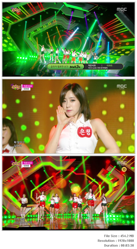 T-ara - Little Apple (141129 MBC Music Core)