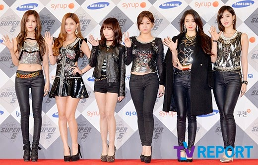 t-ara 2014 sbs gayo daejun red carpet pictures (2)