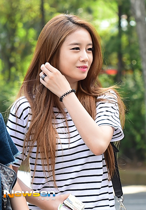t-ara music bank arrival (1)