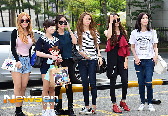 t-ara music bank arrival (2)
