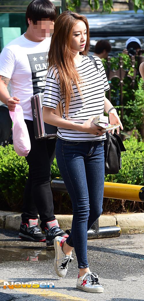 t-ara music bank arrival (6)